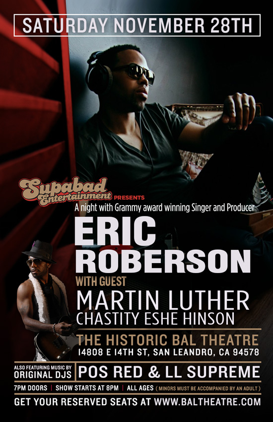 Eric Roberson Live