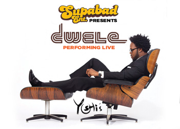 Dwele Event Flier